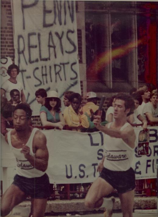 Coach Branch - Penn Relays - 1980
